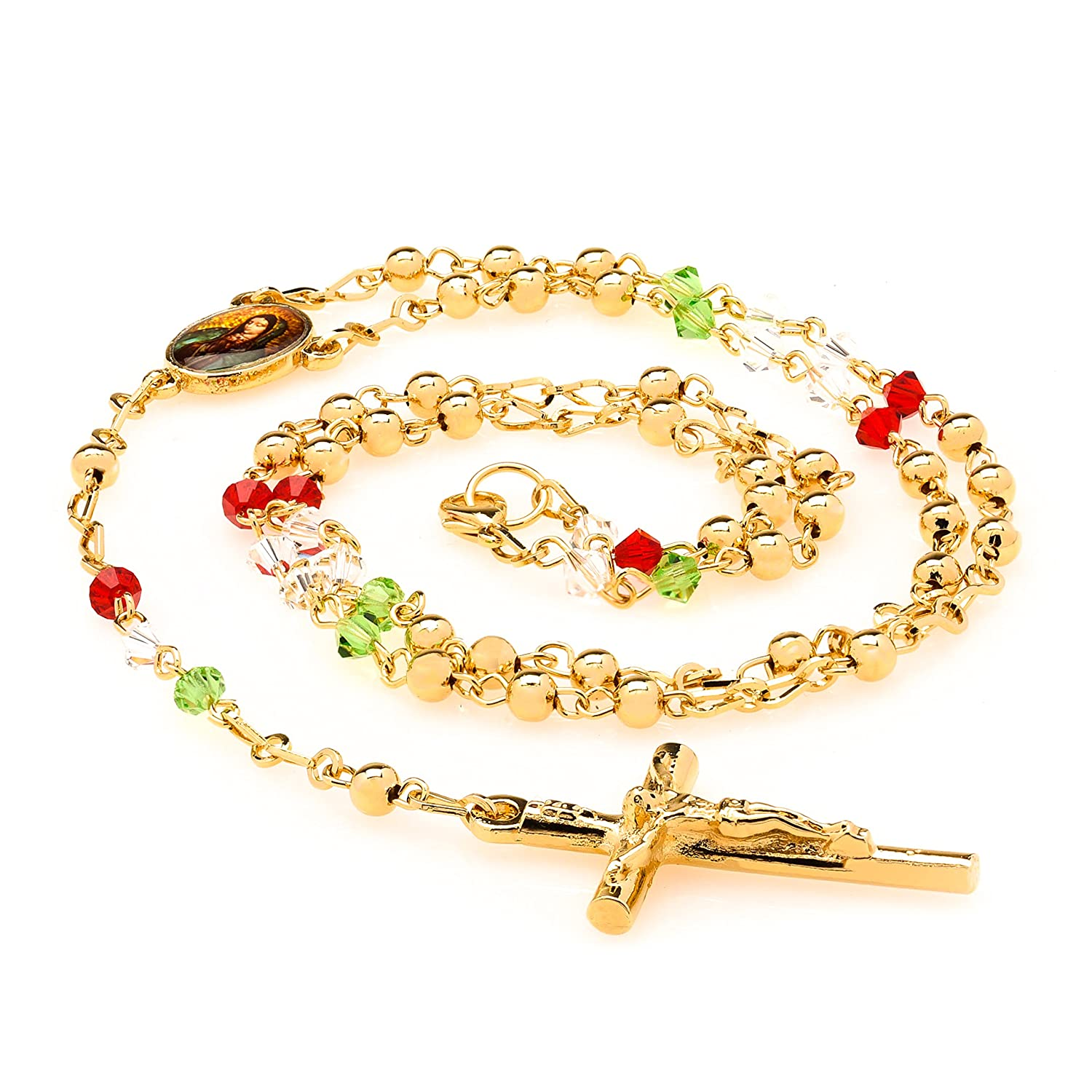 Bracelet Man Woman Red Medal Of Jesucrito Silver New Amulet Luck Charm By Scientific Process Jewelry & Watches Bracelets