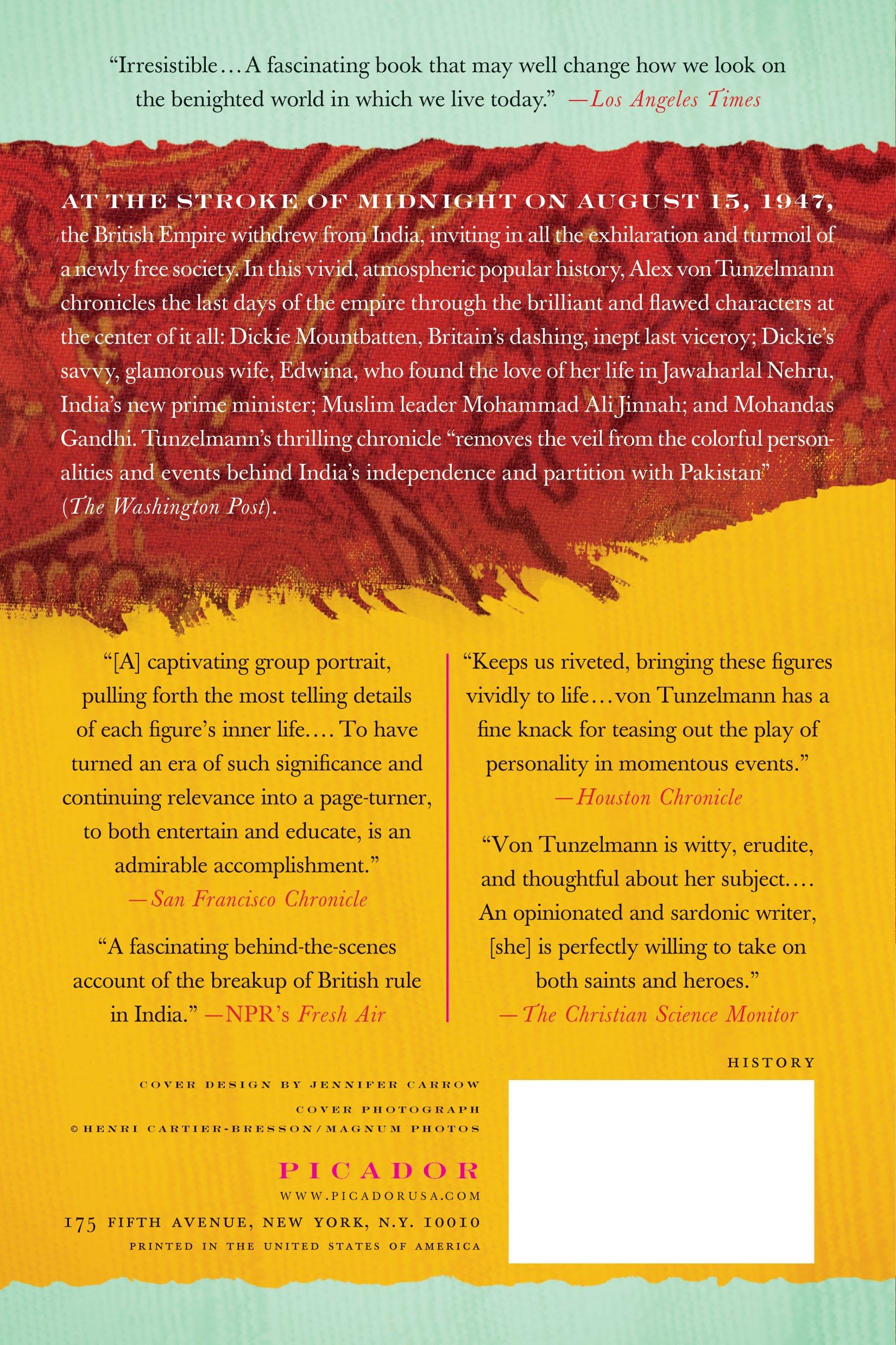 Indian Summer: The Secret History Of The End Of An Empire: Alex Von  Tunzelmann: 9780312428112: Amazon: Books