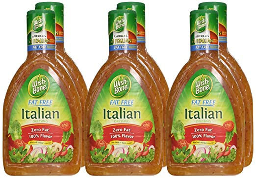 Amazon.com : Wish-Bone Salad Dressing, Fat Free Italian, 24 Ounce (Pack of 6) : Wishbone Fat Free Italian Dressing : Grocery & Gourmet Food