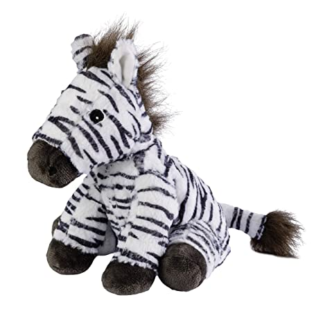 Cojín térmico Warmies® MINIS Zebra con relleno de lavanda de ...