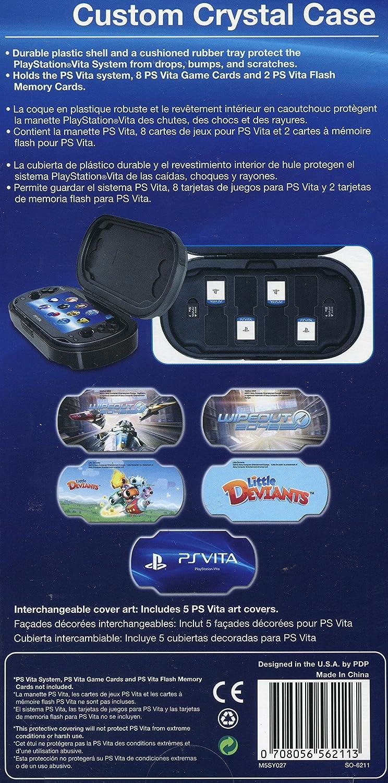 Psvita Custom Crystal Case Video Games Cystal Ps Vita