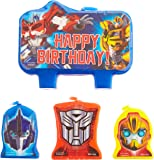 Transformer 2014 Molded Candle Set (4 Pieces) by Amscan