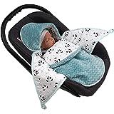 Baby Sacco Ovetto kuschel Sacco Coprigambe momika Baby Baby coperta Passeggino in cotone Zigzag