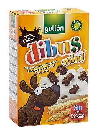 Gullón Dibus Mini Galleta Desayuno y Merienda - 250 gr ...