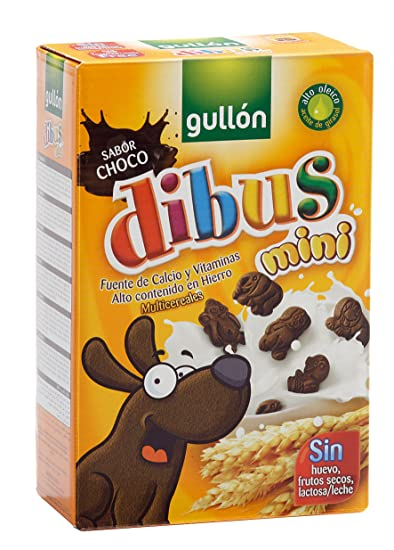 Gullón Dibus Mini Galleta Desayuno y Merienda - 250 gr