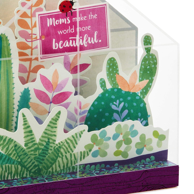 Hallmark Paper Wonder 3D Pop Up Mothers Day Card Swans