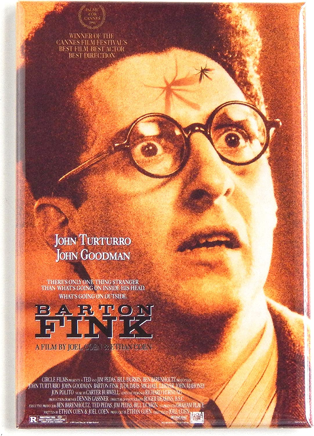 Barton Fink Movie Poster Fridge Magnet (2 x 3 inches)