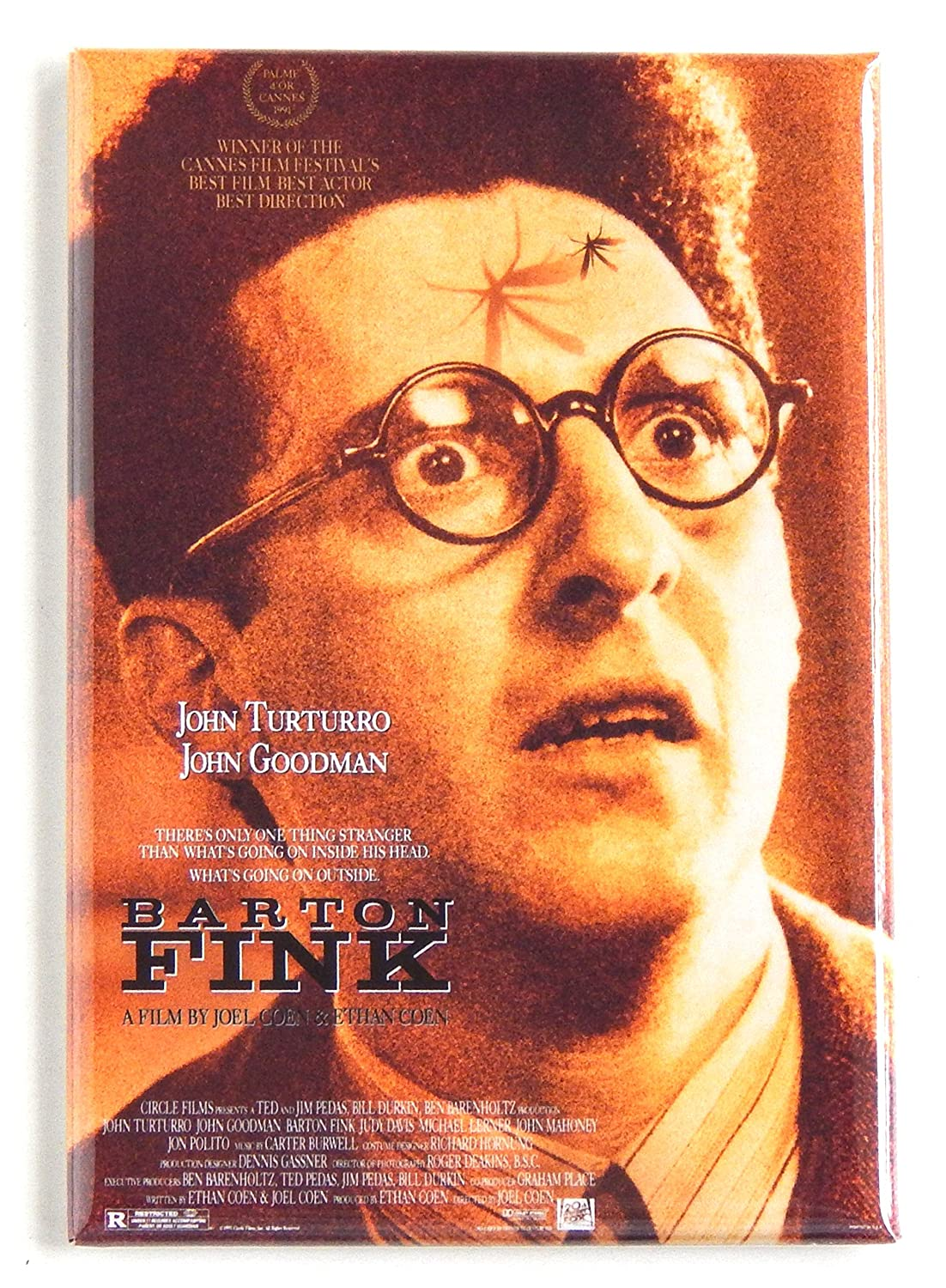 Barton Fink Movie Poster Fridge Magnet (2.5 x 3.5 inches)