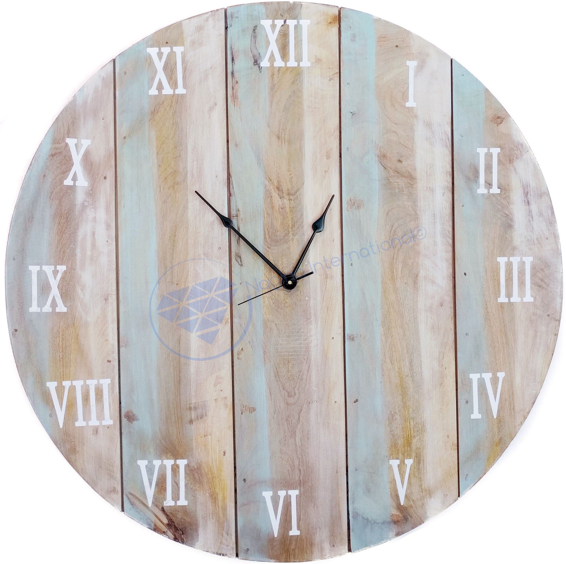36'' Large Antique Custom Weathered Beautiful Hall Decor Clock | Large Decorative Gifts | Nagina International