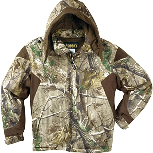 27bb04345564f Rocky Men's Prohunter Insulated Parka Jacket, Realtree Extra Camouflage,  Medium