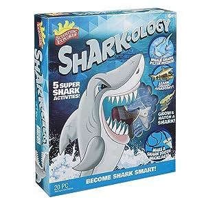 Scientific Explorer Shark-Ology Peel Away Vinyl Organ & Bone Sheets, Blue