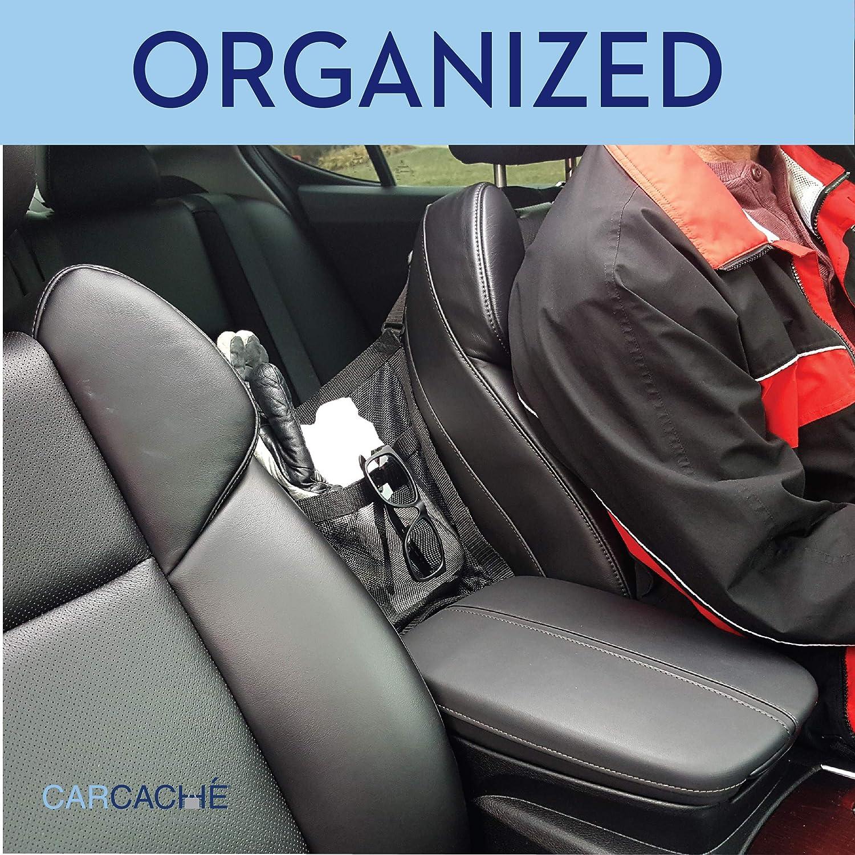Patented Original Invention - Helps as Dog Barrier Car Cache Handbag Holder: Car Purse Storage /& Pocket Too for Smaller Items