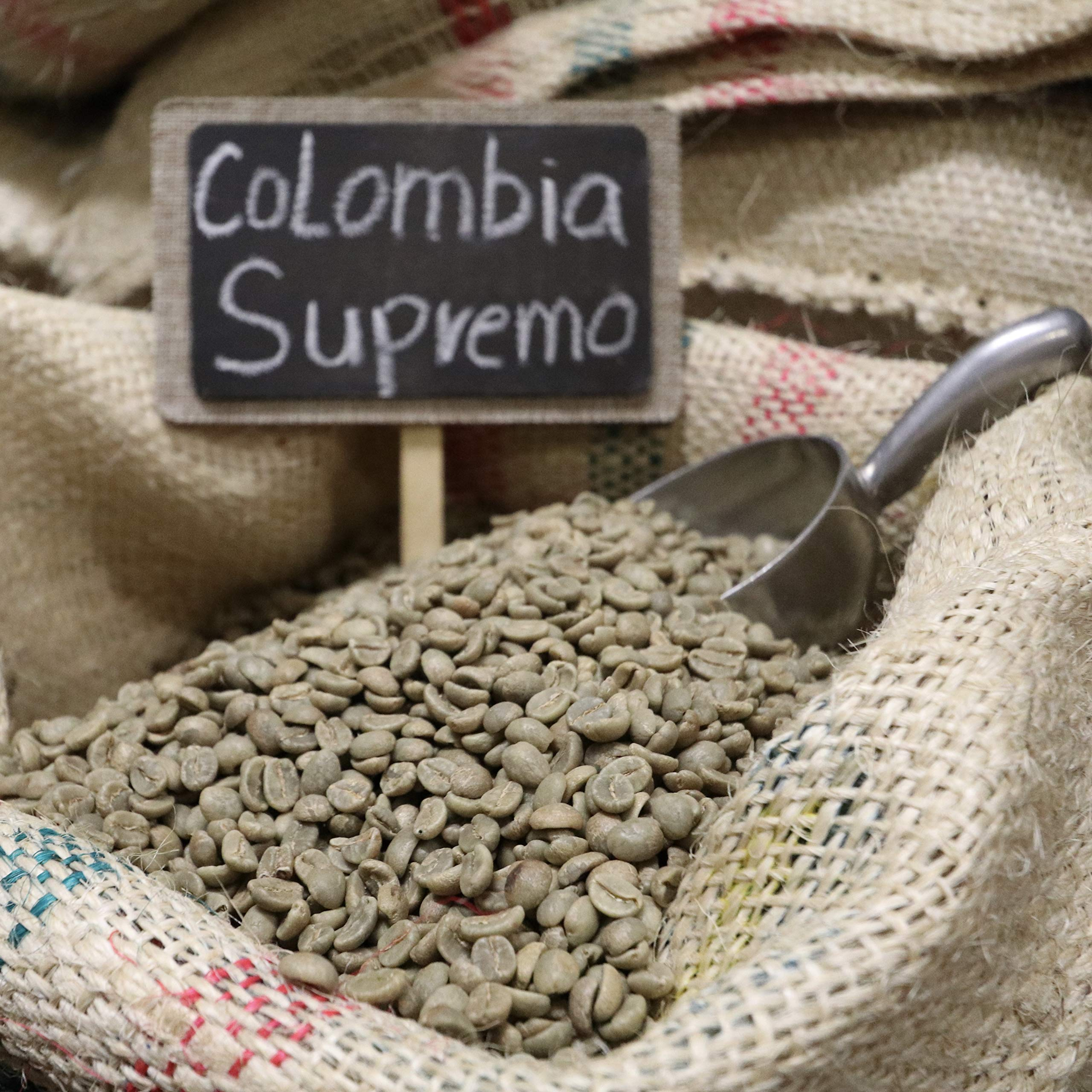 Colombia Unroasted Suprimo Green Coffee Beans New Crop (33) by Suprimo (Image #1)