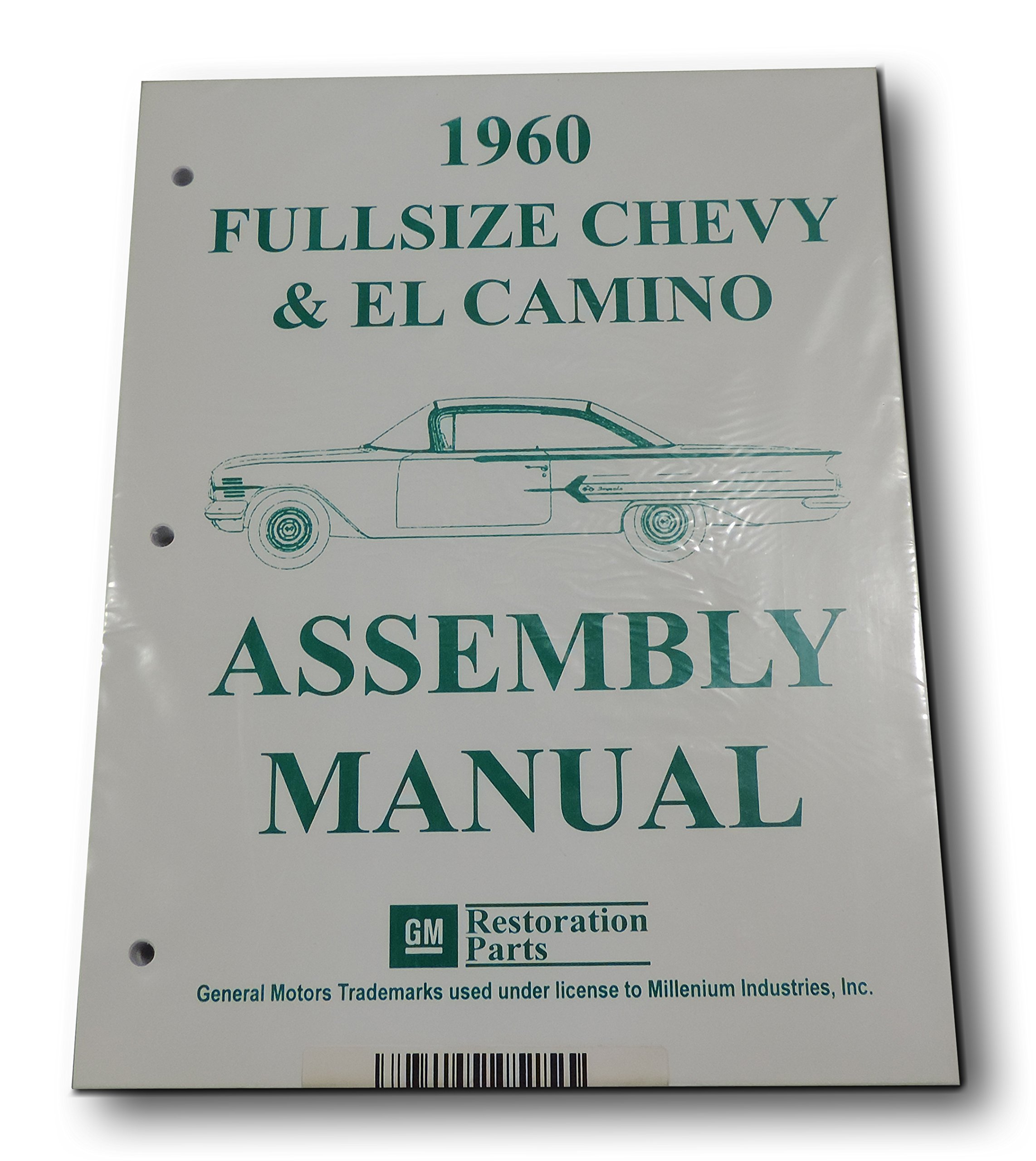 Inline Tube (I-2-15) Factory Assembly Manual for 1960 Full Sized Chevrolet Cars and El Camino