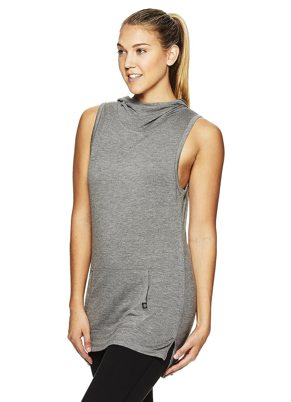9b5b856d85 Amazon.com: Gaiam Women's Piper Sleeveless Cowl Neck Yoga Top w/Front  Pocket: Clothing