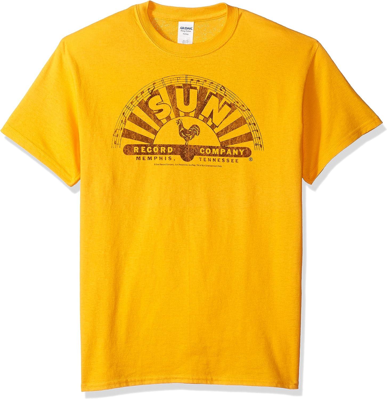 Trevco Men's Sun Records Short Sleeve T-Shirt