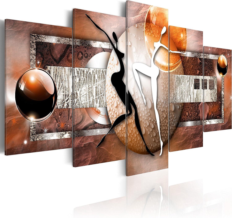 murando - Cuadro en Lienzo 100x50 cm Abstracto Impresión de 5 Piezas Material Tejido no Tejido Impresión Artística Imagen Gráfica Decoracion de Pared Arte 020101-221
