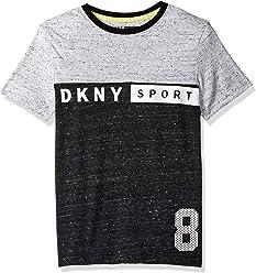 e06c603b6e6b7 DKNY Boys  Short Sleeve Fashion T-Shirt