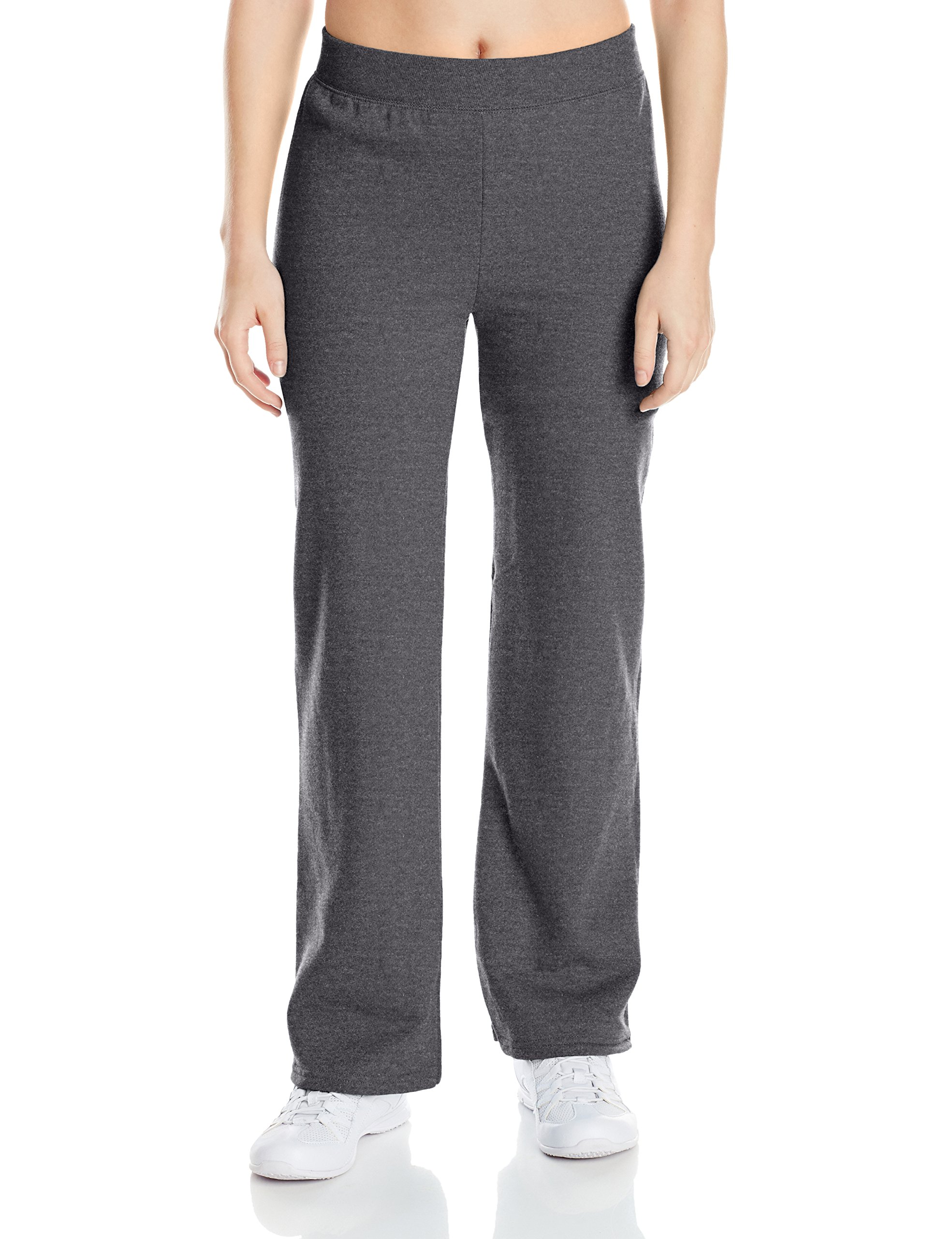 Hanes Women's Middle Rise Sweatpant, Slate Heather, X-Large
