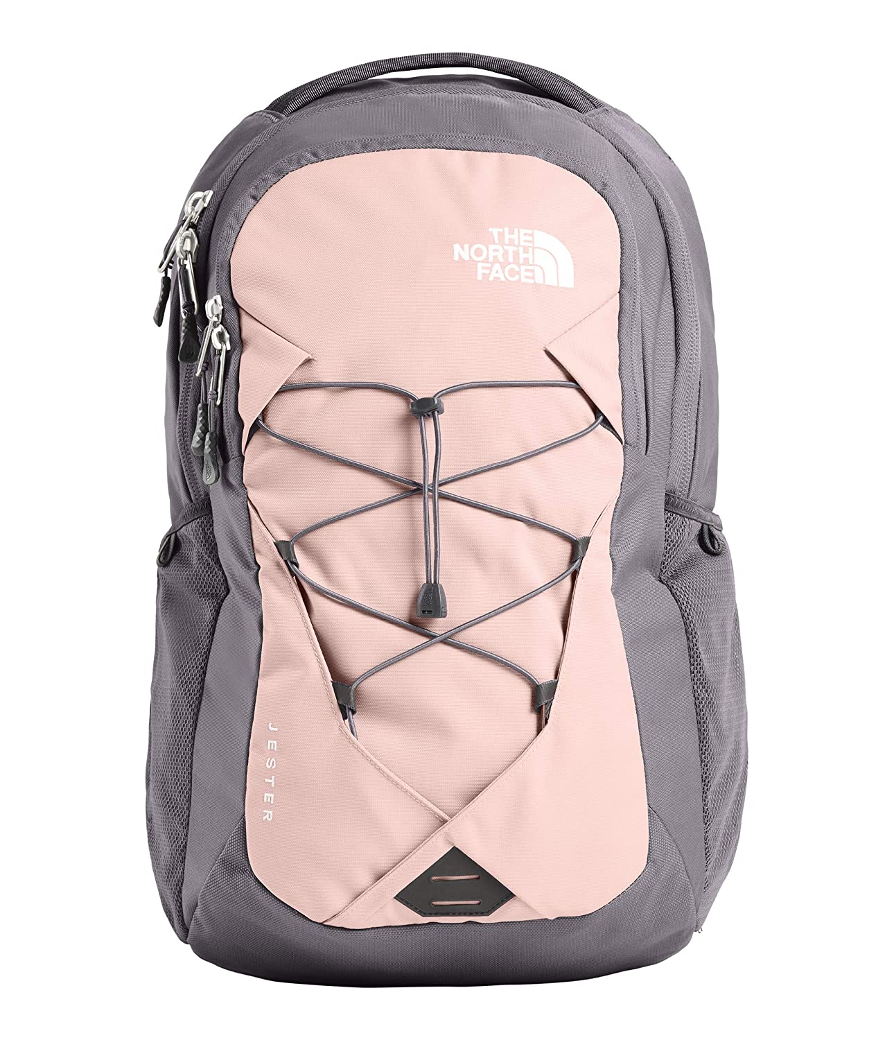728374d503 Amazon.com | The North Face Women's Jester, Rabbit Grey/Pink Salt, OS |  Casual Daypacks