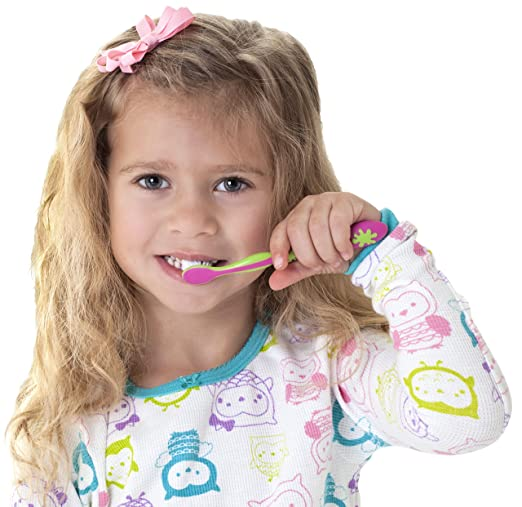 Nuby 4 Stage Oral Care Set System (Colors May Vary)
