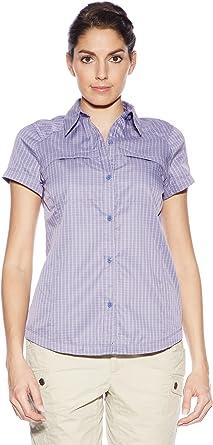 Columbia - Camisa/Camiseta para Mujer, Color Morado, Talla XS ...