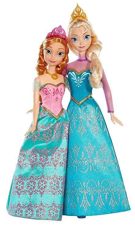 Amazon.com: Disney Frozen Muñecas hermanas reales (2 ...