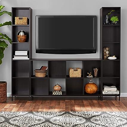 online retailer d8cdd 524ea Amazon.com: Mainstay Cube Storage Home Entertainment Center ...