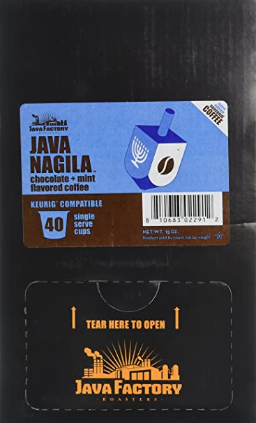 0d0cdd19d76 Amazon.com   Java Factory Java Nagila Single-Cup Coffee for Keurig K-Cup  Brewers