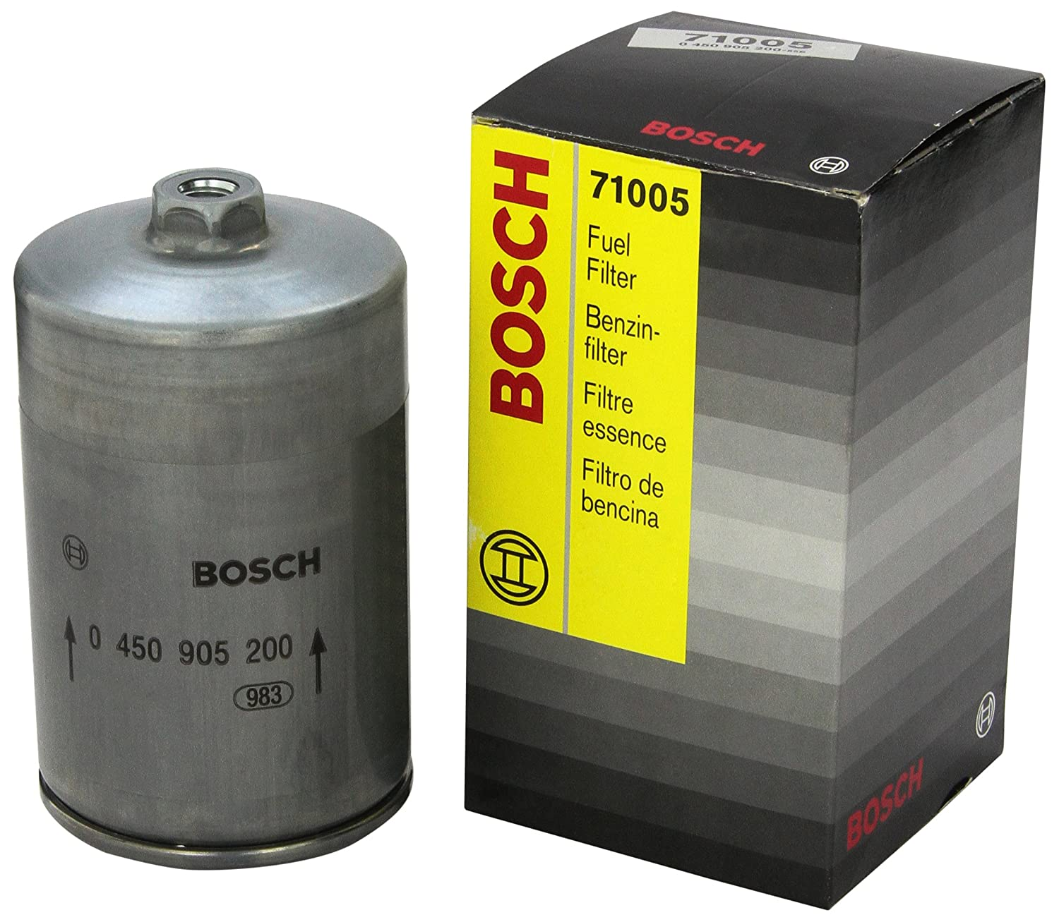 Bosch 71005 Fuel Filter Outlet Volvo 960 1997 Location