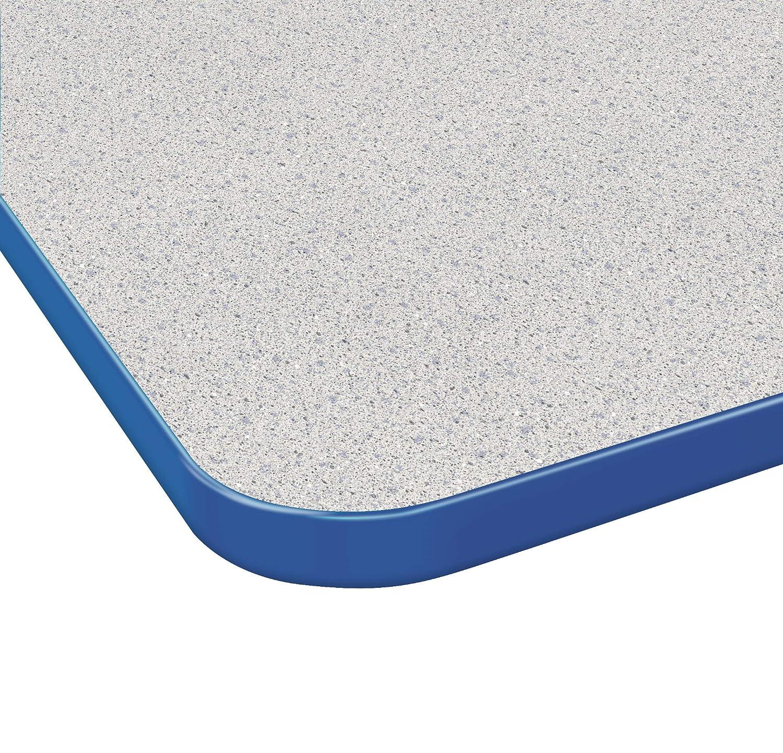 Standard Size Black-Leg Fusion Maple -Top Marco Group MGA2248-50-BBLK 36 x 72 Rectangular Adjustable Height Classroom Activity Tables 21-30 Black-Edge