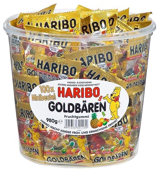 14 opinioni per Haribo orsetti d'oro (Goldbären)- box, 100 mini bustine