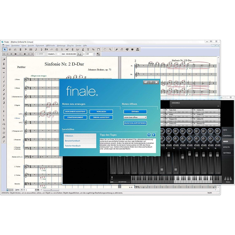 Finale 25 Vollversion - Notationsprogramm Deutsch: Amazon.de: Software