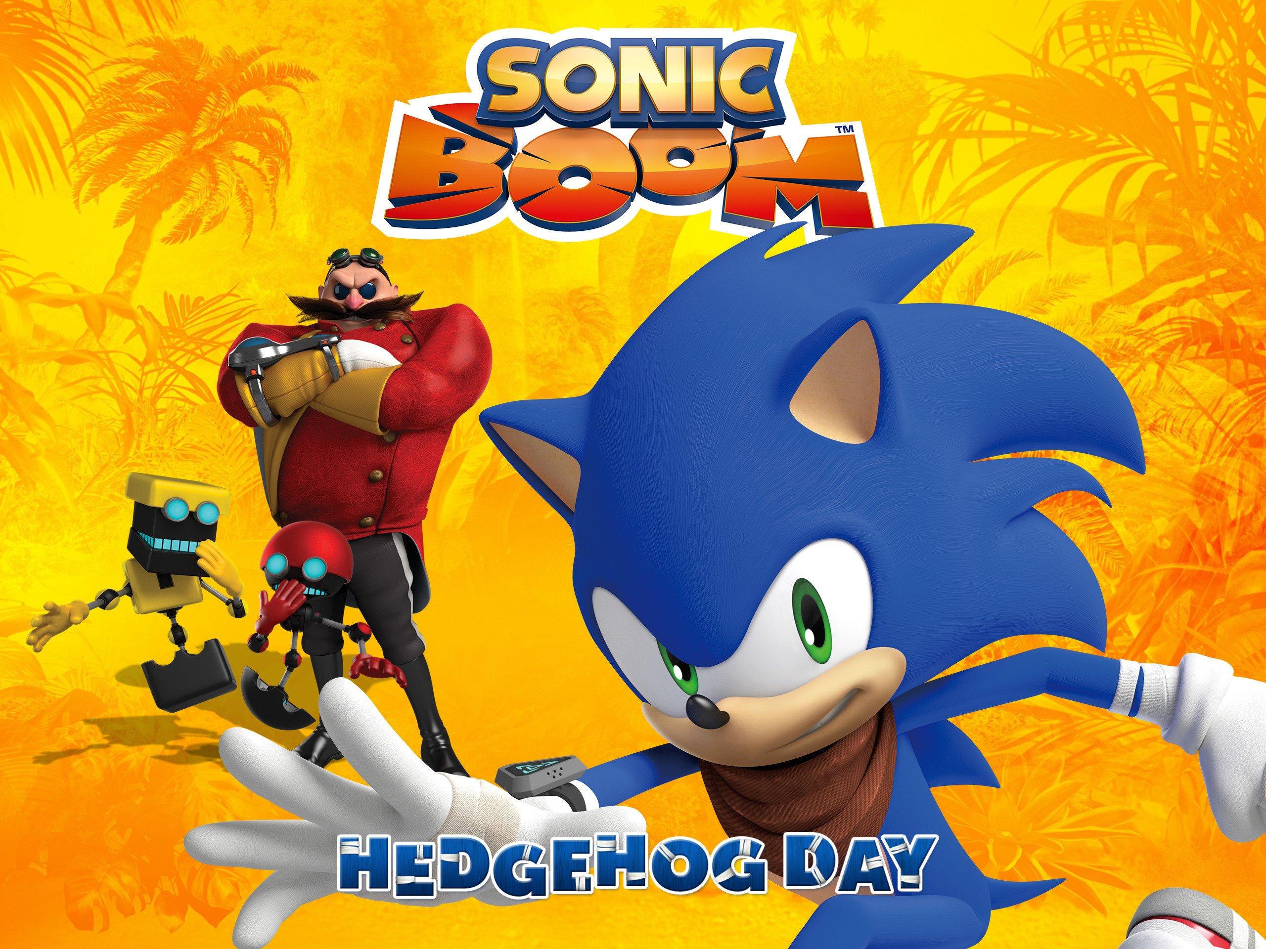 Watch Sonic Boom Vol 2 Hedgehog Day Prime Video
