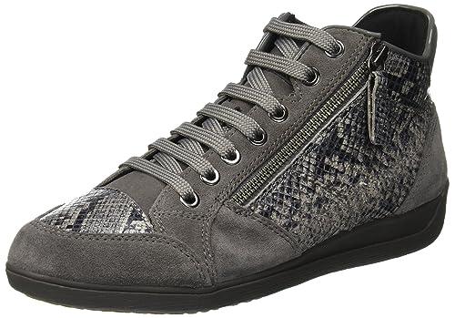 Geox D Myria C, Zapatillas Altas para Mujer: Amazon.es: Zapatos y complementos