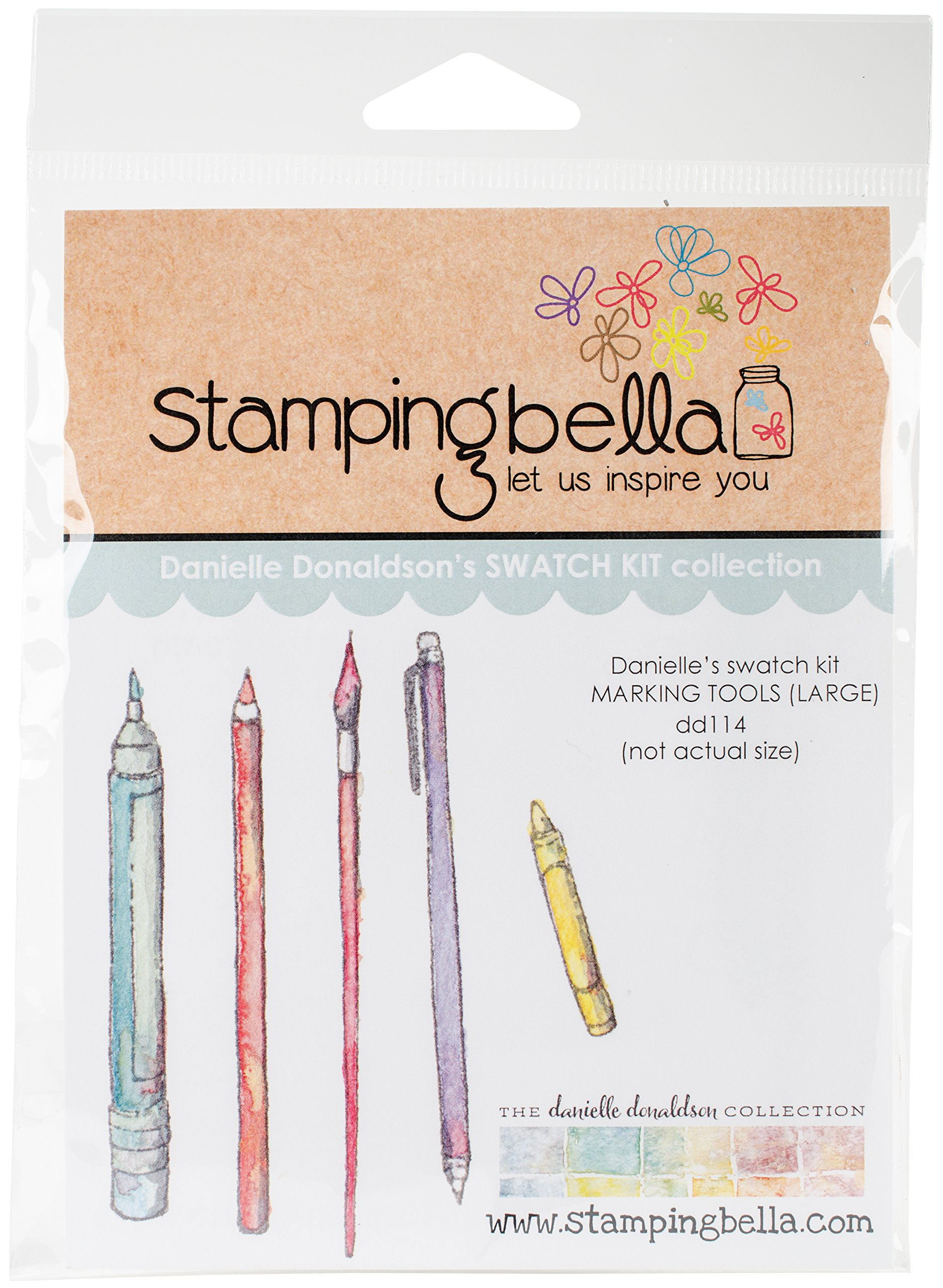 Stamping Bella'' Large Marking Tools Cling