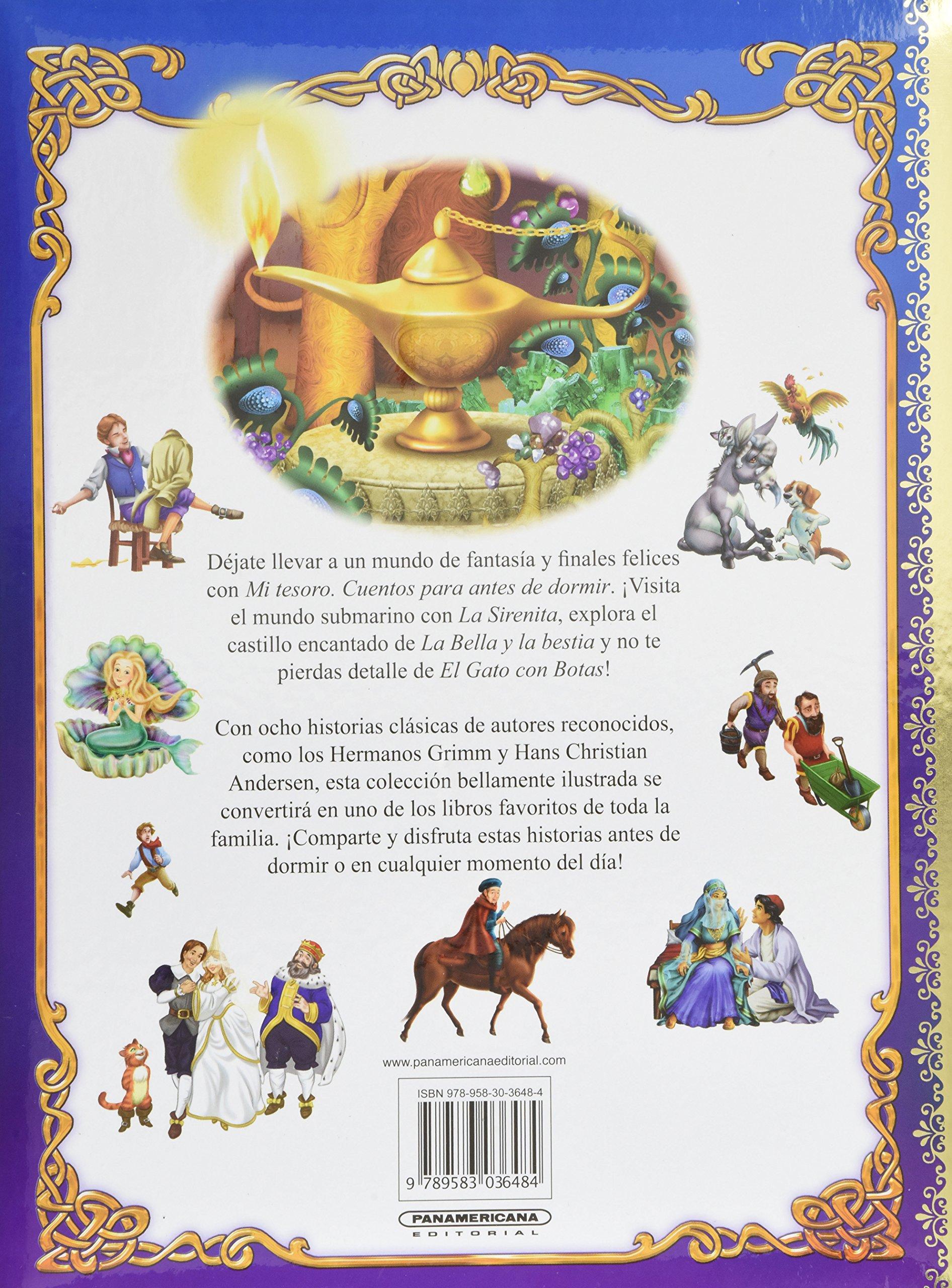 CUENTOS PARA ANTES DE DORMIR (Spanish Edition): Varios: 9789583036484: Amazon.com: Books