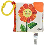 World of Eric Carle, The Very Hungry Caterpillar Tiny Seed Clip-On Soft Book