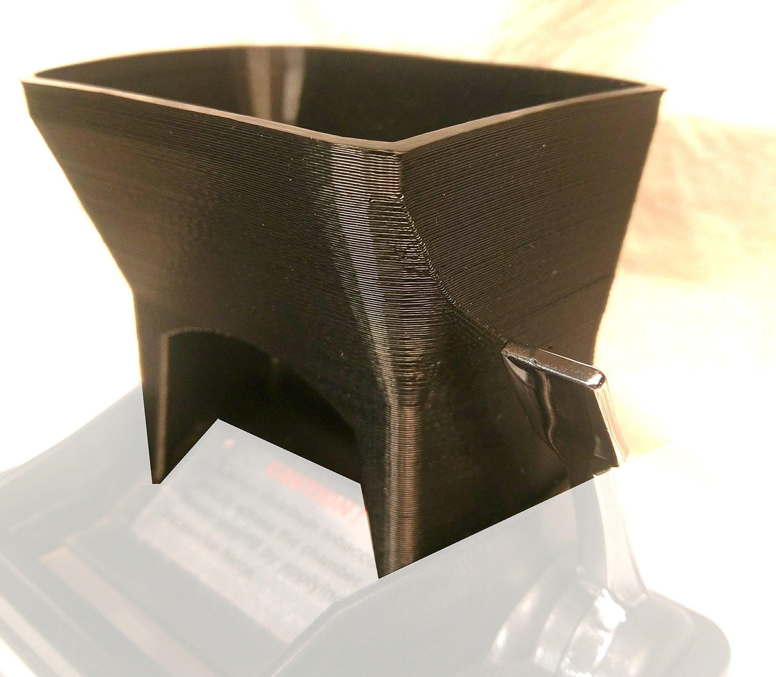 Ergo 3D Tobacco Hopper for Powermatic 2 and 2+ Cigarette Rolling Machine