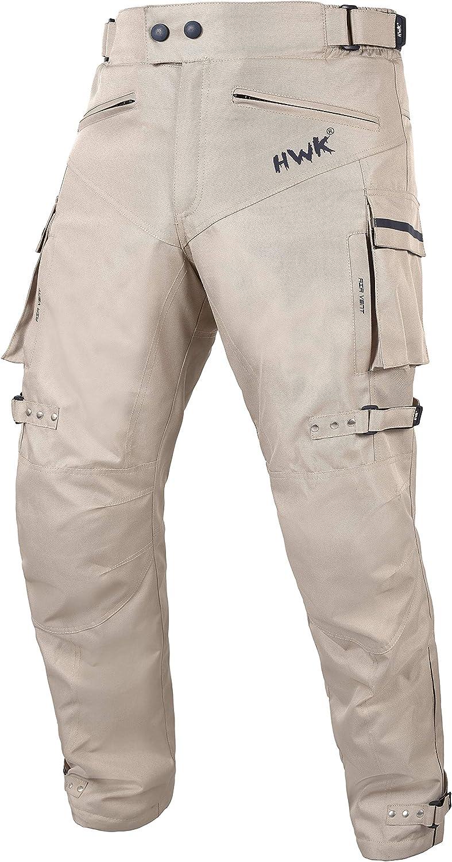 HWK Motorcycle Pants Adventure Dirt Bike Dualsport Riding Waterproof Pant