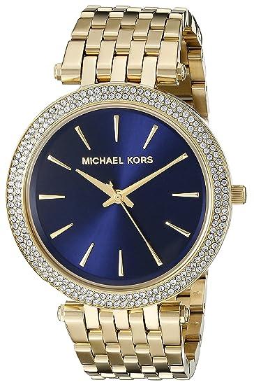 Michael Kors Reloj Análogo clásico para Mujer de Cuarzo con Correa en Acero Inoxidable MK3406: Michael Kors: Amazon.es: Relojes
