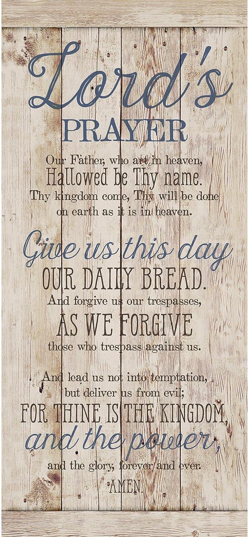 "Dexsa Lord's Prayer…New Horizons Wood Plaque 6""x9"""