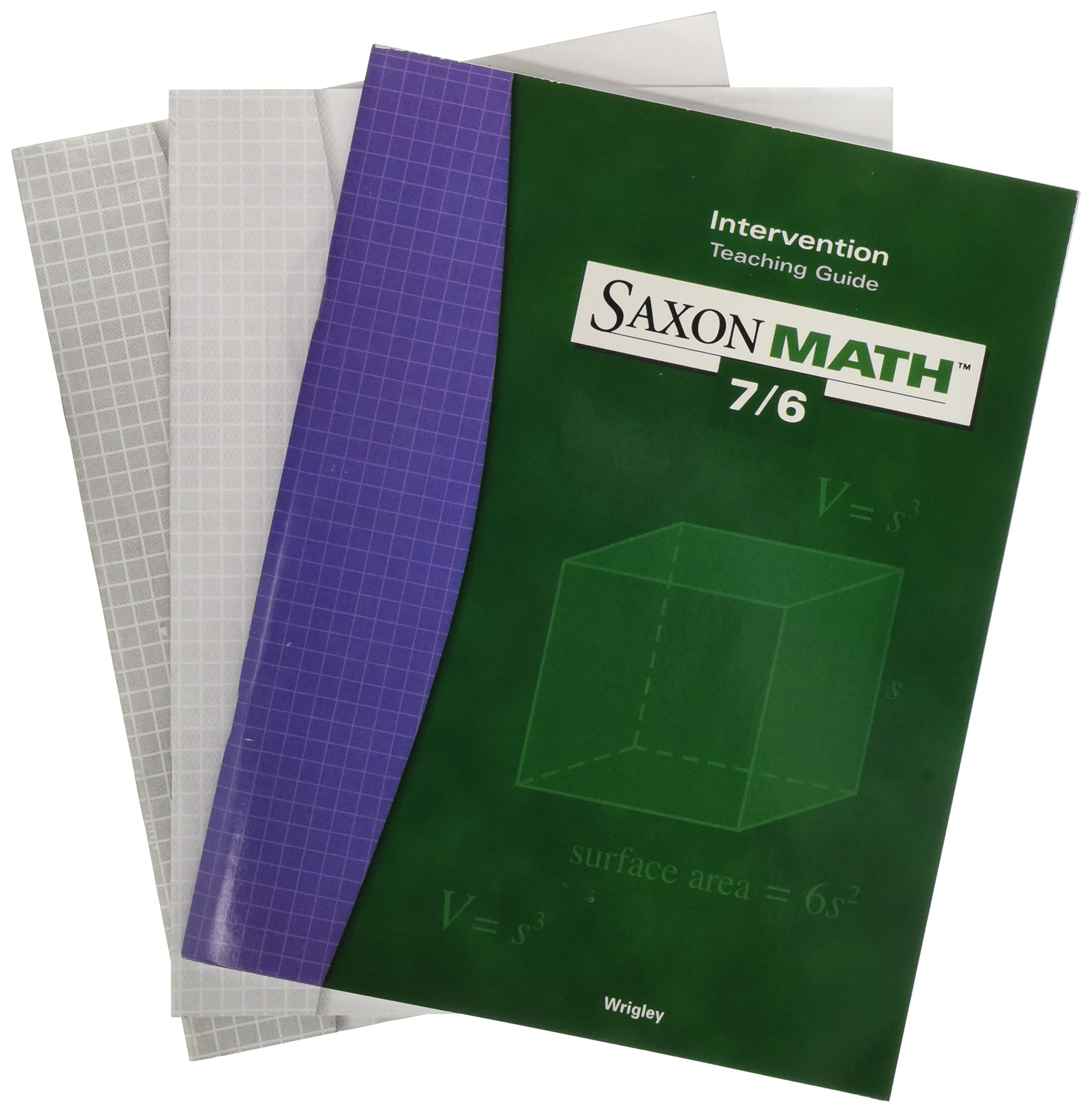 Saxon Math 7/6: Teaching Guide   (Level 7/6) Intervention 2000 pdf epub
