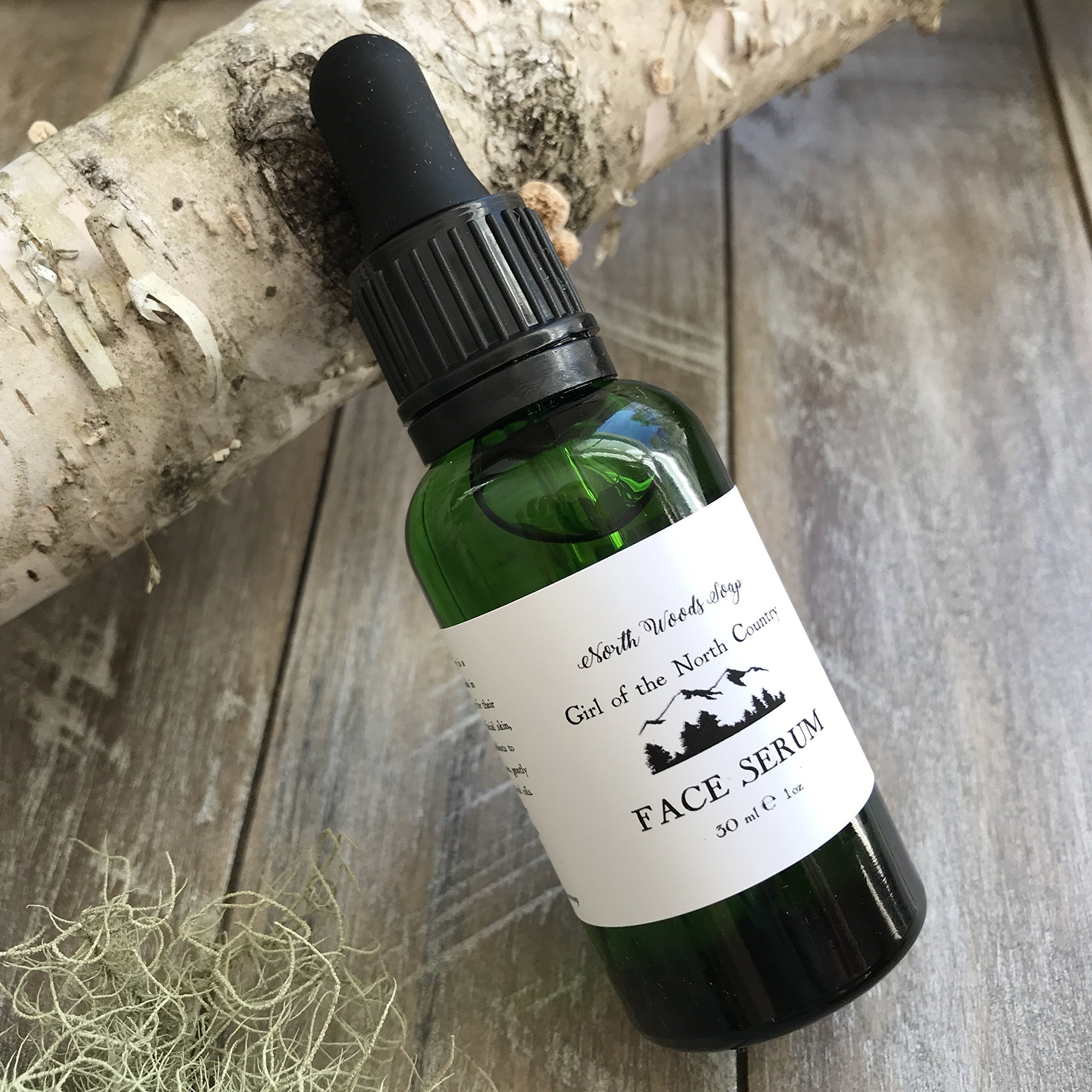 Face Serum with Botanicals Mothers Day Gift Made in Maine Anti Aging