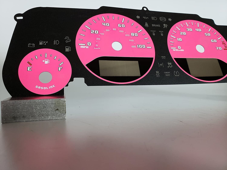 US Speedo Daytona Edition Jeep Wrangler JK Gauge Face Pink for ...