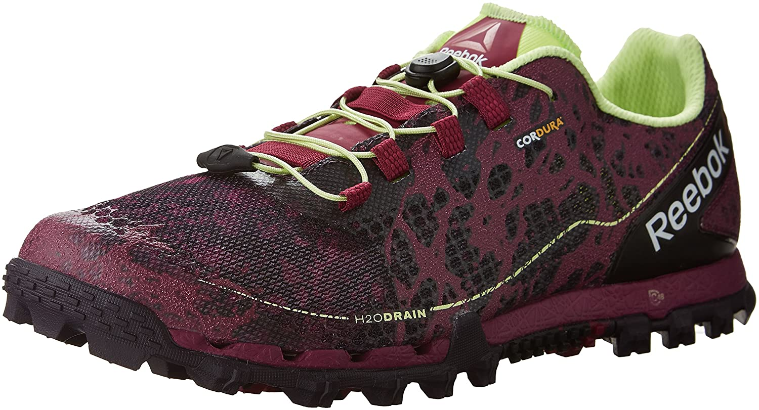 Reebok Women's All Terrain Super Or Running Shoe B01FUMMP50 7.5 B(M) US|Berry/Violet