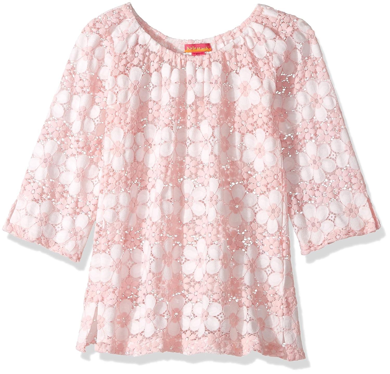 7d5c156f58130 Amazon.com  Kate Mack Girls  Little Dainty Daisies Crochet Coverup Top   Clothing
