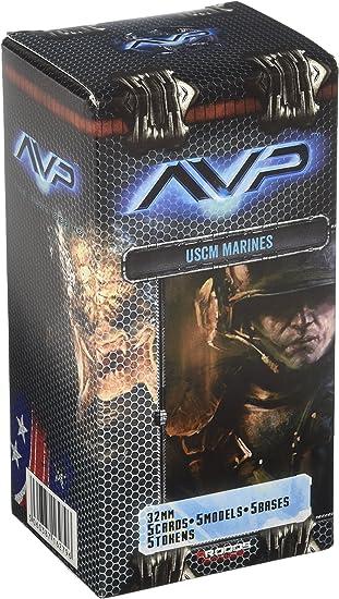 Alien Vs Predator Juego de Mesa The Hunt Begins Expansion Pack USCM Colonial Marine *Edición Inglés*: Amazon.es: Juguetes y juegos