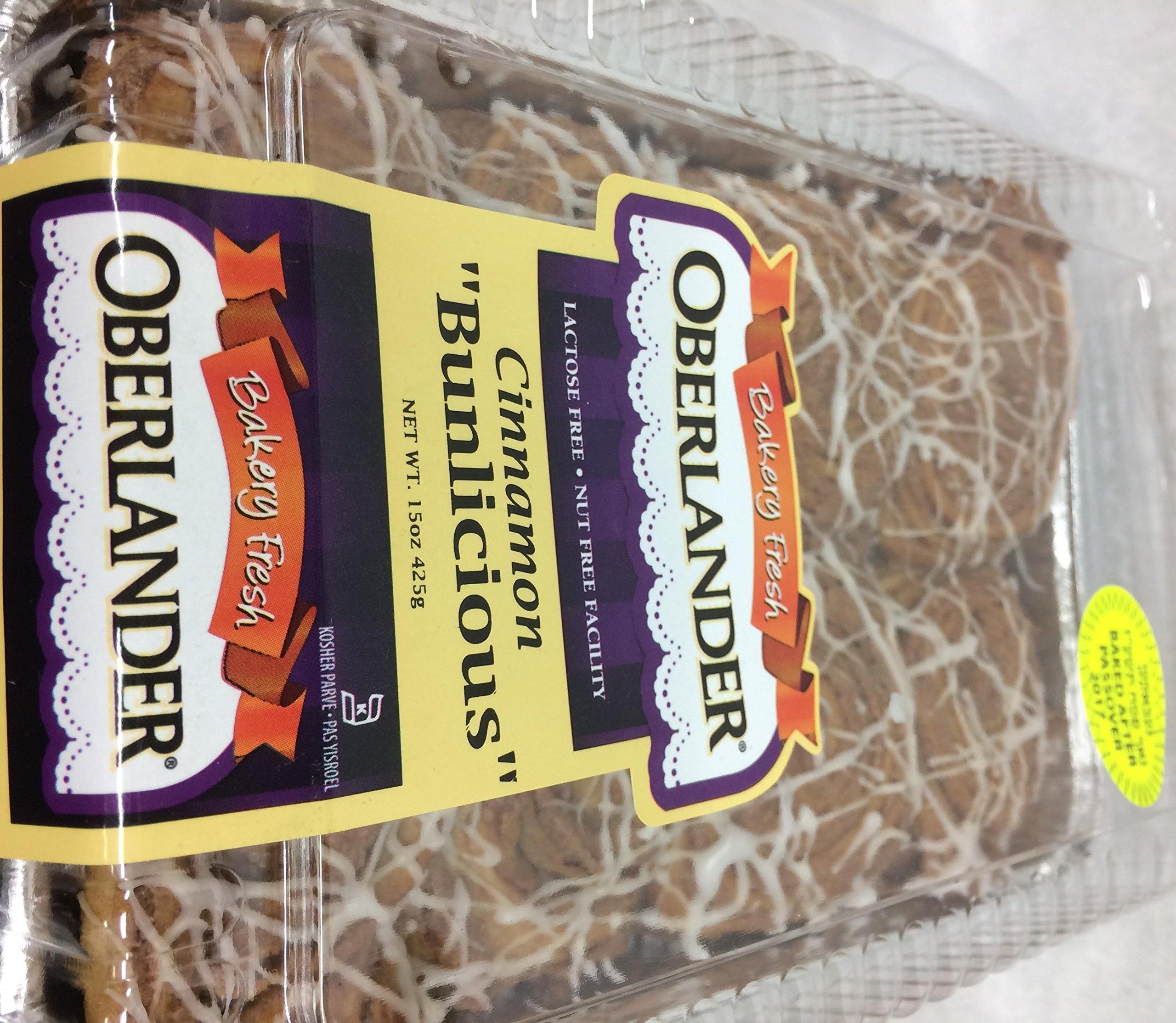 Oberlander Cinnamon Bunlicious Nut Free Facility 15 Oz. Pack Of 1.
