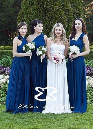 Brautjungfer kleid verschiedene tragevarianten